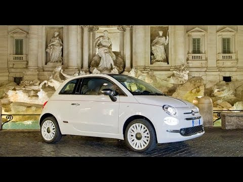Fiat 500 Dolcevita 62nd Anniversary Special