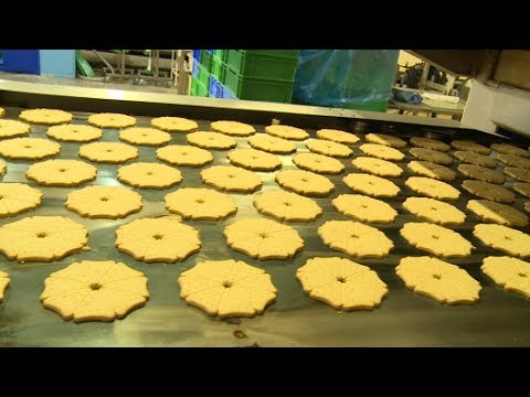 Making Shortbread At Burton's Biscuit Factory, On Live At Five
