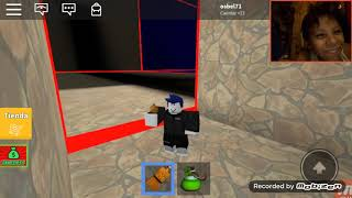 Truco de roblox . Be crushed bi a speeding wall