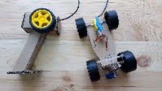 как сделать машинку с пультом управления