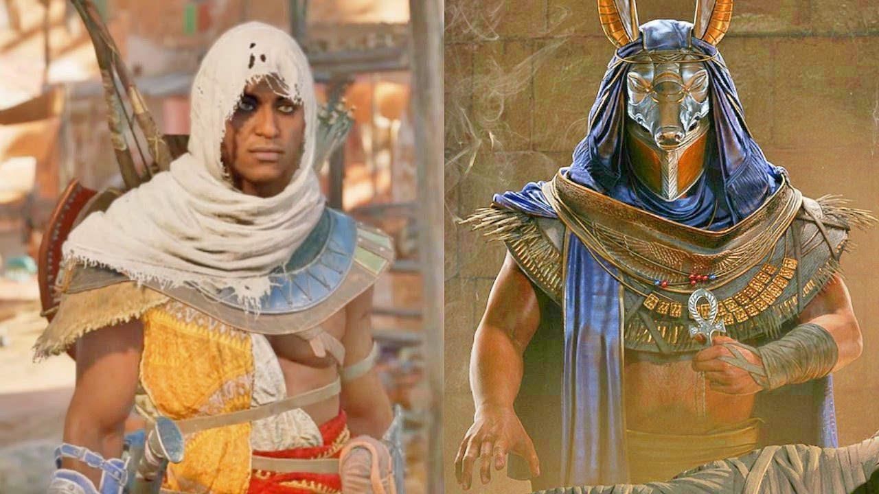 Assassin's Creed Origins - Hallucinations, Outfits, Sandstorms, Throwable Oil Barrels and More
