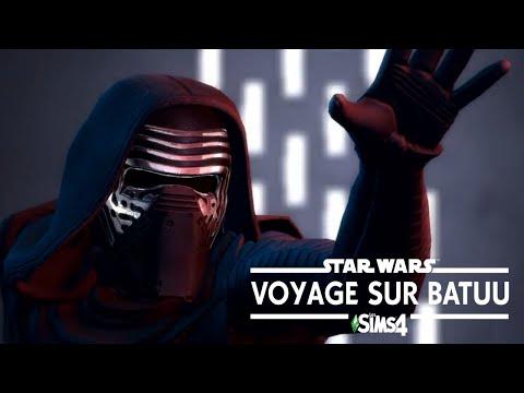BAR ARRONDI ET JEUX D'ARGENT ? - Les Sims 4: Voyage sur Batuu analyse de la bande-annonce