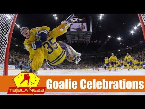 Goalie Celebrations