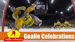 Goalie Celebrations