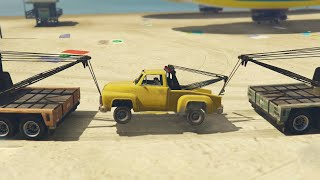 MODDED TOW TRUCK GLITCH (GTA 5 Funny Moments)