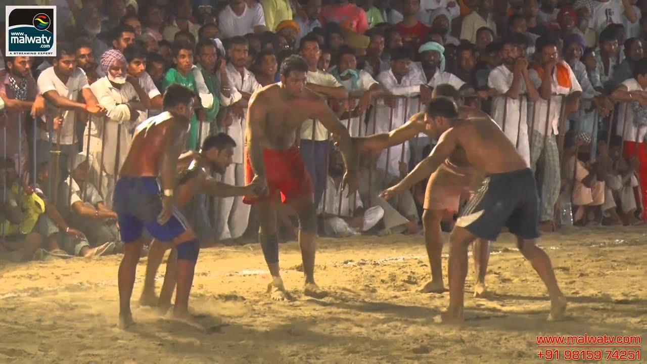 KAONKE KALAN (Jagraon) 9th Baba Rodu Kabaddi Cup || Oct-2014 || HD || Semi and Final || Part 3rd.