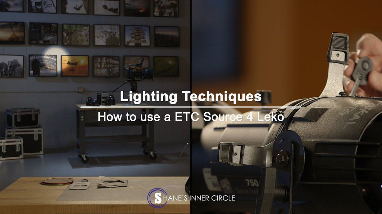 Lighting techniques how to use a etc connect source 4 leko