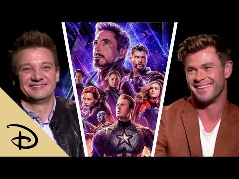 """Dear Thanos"" From the Cast of Avengers: Endgame | Disney"