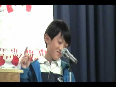 Winning Elementary Student Council Treasurer Speech Funny ...