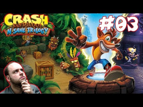 This Is Getting Hard Fast! - Crash Bandicoot N. Sane Trilogy [Cortex Strikes Back] Gameplay #03