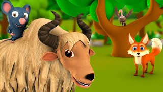 The Wise Rat & Fearful Animals 3D Animated Hindi MoralStories for Kids बुद्धिमान चूहा और जानवर कहानी
