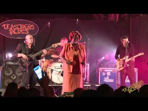 Toni Lynn Washington, Sax Gordon & Luca Giordano Band@Trasimeno Blues 2016