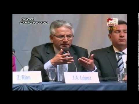 Debate GT: Foro Presidenciables 2015 (Canal Antigua) Zury Rios