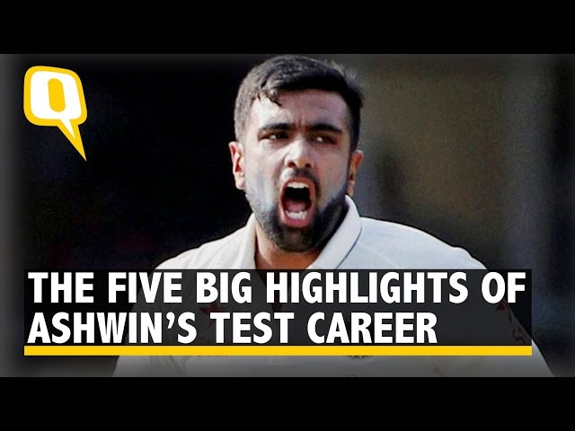 the quint the five big highlights of ravichandran ashwin  s test  the quint the five big highlights of ravichandran ashwin39s test career
