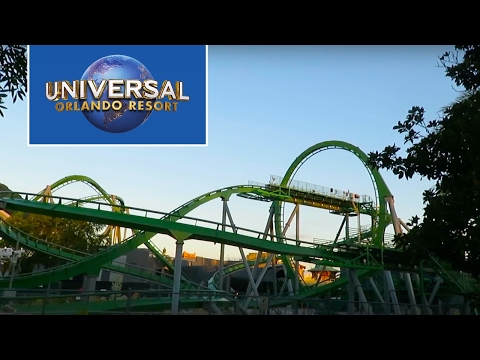 Finally riding The Incredible Hulk Coaster at Universal's Islands of Adventure!
