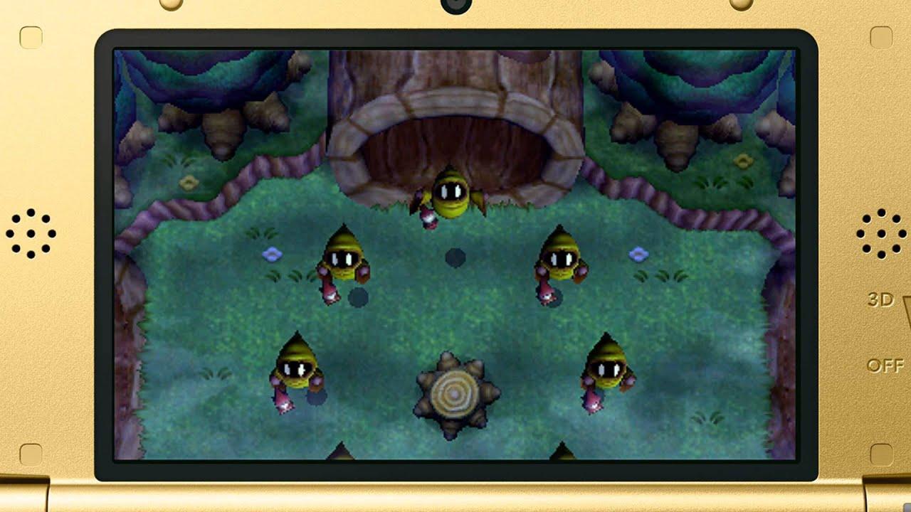 Legend of Zelda: Link Between Worlds - Lost Woods - YouTube