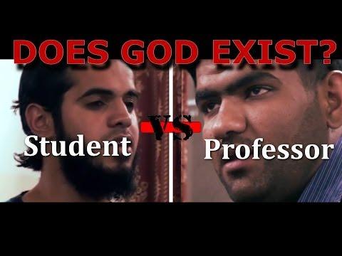 Short Film: Does God Exist Scientifically  ? Debate Professor Vs Student