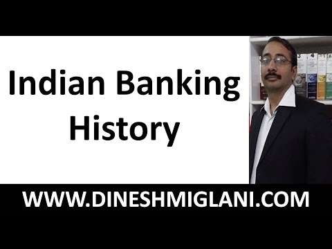 Best Session of Banking for IBPS and SBI Bank PO  on Indian Banking History