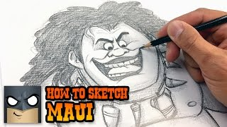 How to Draw Maui | Sketch Tutorial