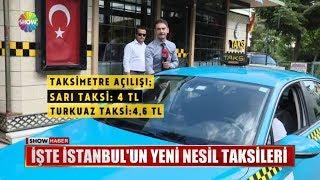 İşte İstanbul'un yeni nesil taksileri