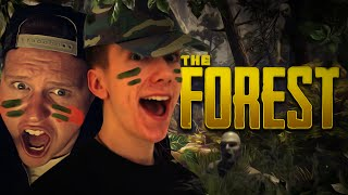 IN THE TRAP HOUSE! | The Forest With Ethan