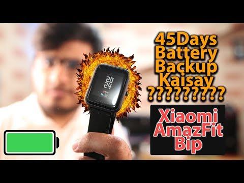 Xiaomi AmazfitBip | 45 Days Battery ?