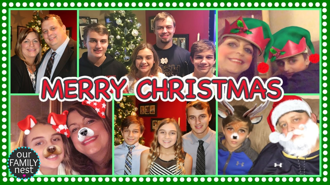 Opening Christmas Presents Our Family Nest Christmas Special 2016