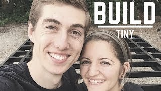 How To Build A Tiny House On Wheels | Step By Step | Building A Tiny House | Day 1