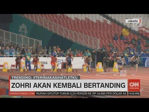 Zohri Kembali Bertanding - Update Perolehan Medali Asian Games 2018 Pukul 18.45