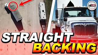Useful Backing Tips f๐r Tractor Trailer - How to Keep the Truck Straight While Backing Up