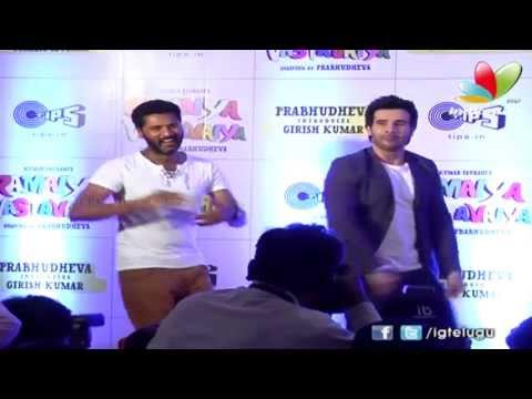 Ramaiya Vastavaiya - Prabhudeva & Girish Kumar Dance On hip hop pammi Song | Shruthi Hassan