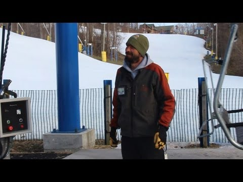 Day In The Life Of A Liftie - Liberty Mountain Resort