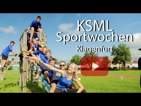 Alles über die KSML Sportwochen