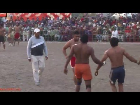 UMRA NANGAL (Amritsar) || KABADDI CUP - 2015 || 2nd SEMI FINAL || FULL HD || Part 6th.