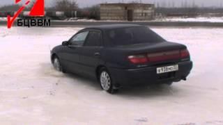 Уроки вождения автомобиля. Автошкола БЦВВМ в Барнауле. Видео зимнее экстремальное, контраварийное