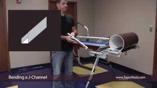 Bending a J-Channel