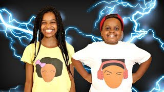 Shasha and Shiloh ARE IN A STORM! - Onyx Kids