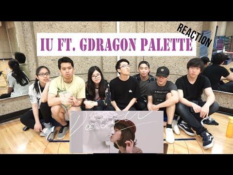 [APRICITY] IU - Palette (팔레트) (Feat. G-DRAGON) MV Reaction Video