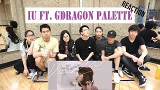 [APRICITY] IU - Palette (팔레트) (Feat. G-DRAGON) Reaction Video