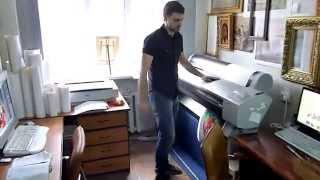 Печать на холсте от художественной студии Позитон.(, 2014-03-17T15:12:52.000Z)