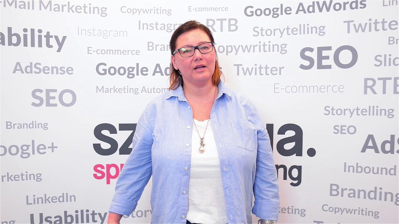 Szkolenie E-Marketing – opinia Sylwii Oster