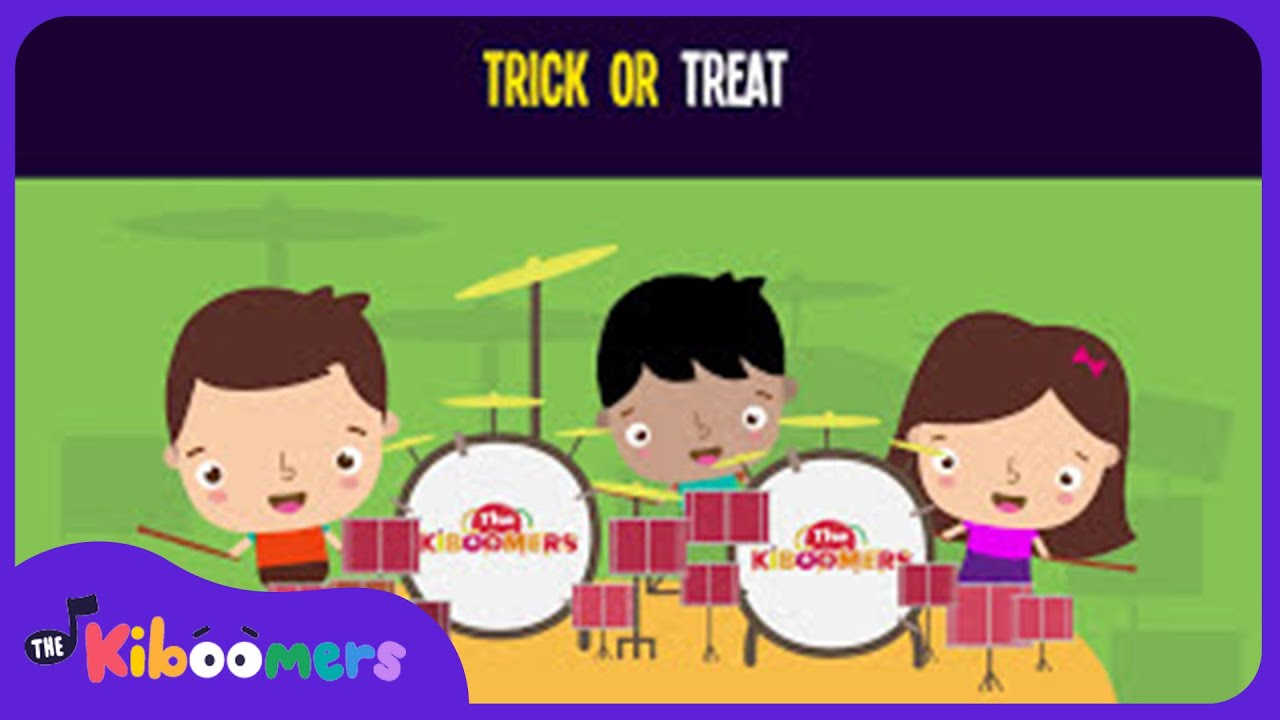Trick or Treat Song for Toddlers | Halloween Songs for Kids | The Kiboomers