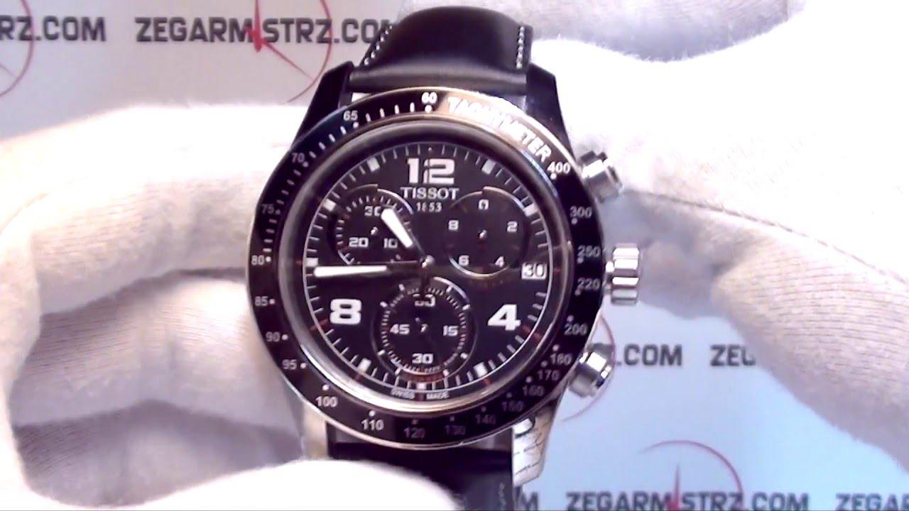 Tissot V8 T039 417 16 057 02 Www Zegarmistrz Com Youtube