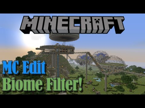 minecraft how to change a biome