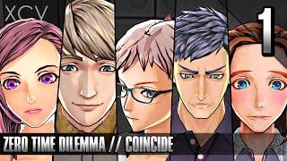 ZERO TIME DILEMMA Gameplay Walkthrough Part 1 · Fragment: Coincide (PC, PS Vita, 3DS)