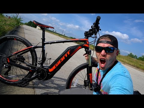 Electric bike test ride - GIANT Dirt-E