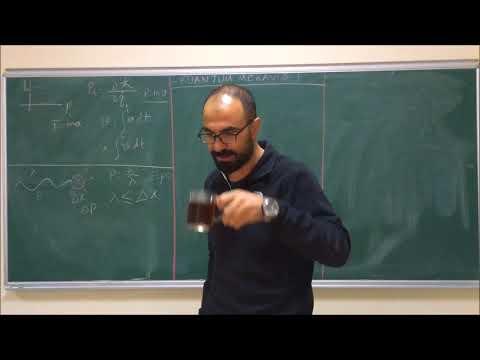 Kuantum Mekaniği Ders 1: Klasik Mekanik İle Kuantum Mekaniği Arasındaki Fark, Dirac Notasyonu