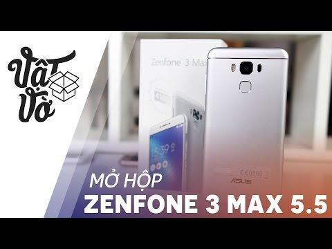 """Vật Vờ  Điện thoại tầm trung tốt nhất của Asus: Zenfone 3 Max 5.5"""""""