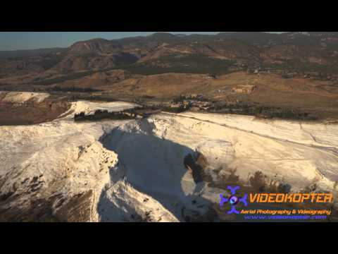 Pamukkale Havadan Video www.videokopter.com