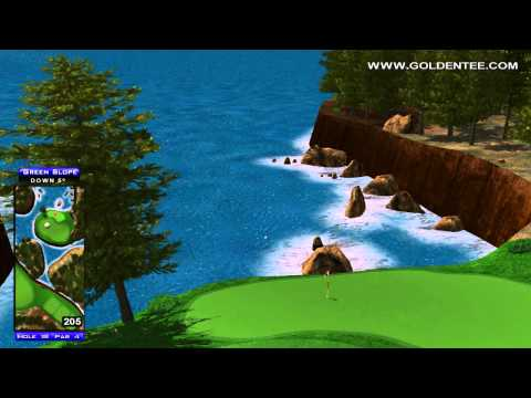 Golden Tee Replay on Timber Bay